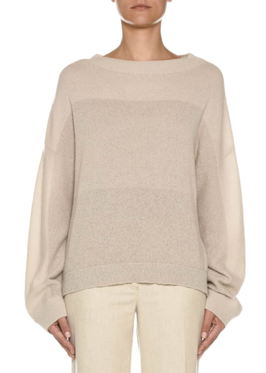 Agnona Degrade Colorblocked Cashmere Sweater & Matching Items