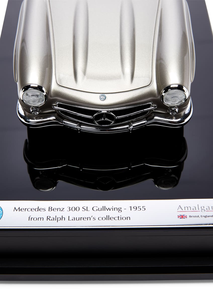 Image 2 of 3: Ralph Lauren's 1955 Mercedes Benz 300 SL Gullwing Coupe Miniature Scaled Car Replica