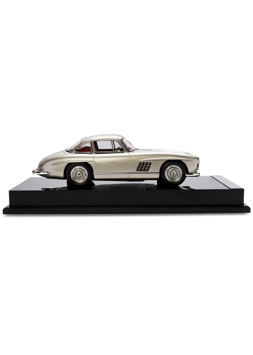 Image 3 of 3: Ralph Lauren's 1955 Mercedes Benz 300 SL Gullwing Coupe Miniature Scaled Car Replica