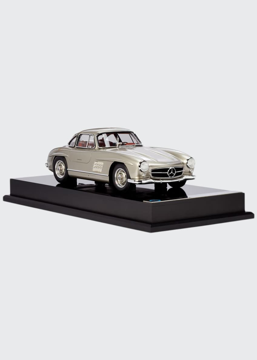 Image 1 of 3: Ralph Lauren's 1955 Mercedes Benz 300 SL Gullwing Coupe Miniature Scaled Car Replica