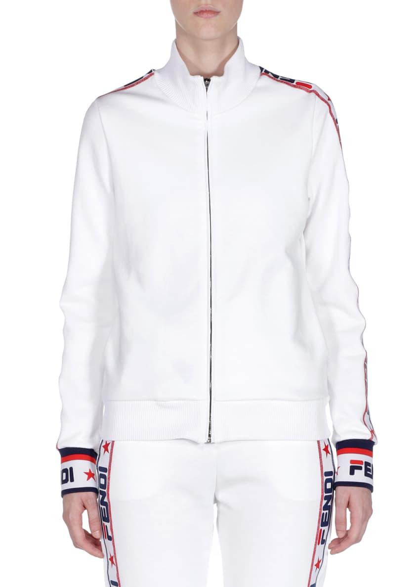 Fendi Fendi Mania Zip-Front Track Jacket & Matching