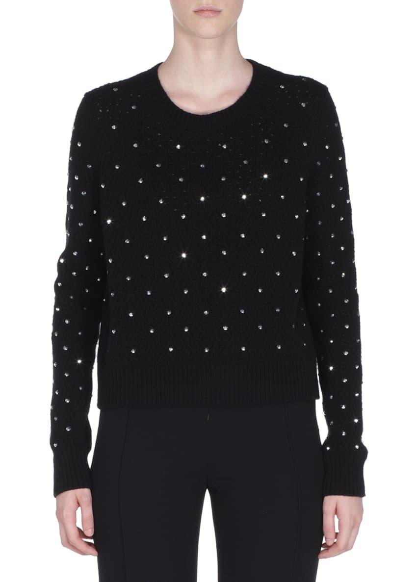 Fendi Rhinestone Cashmere Pullover Sweater & Matching Items