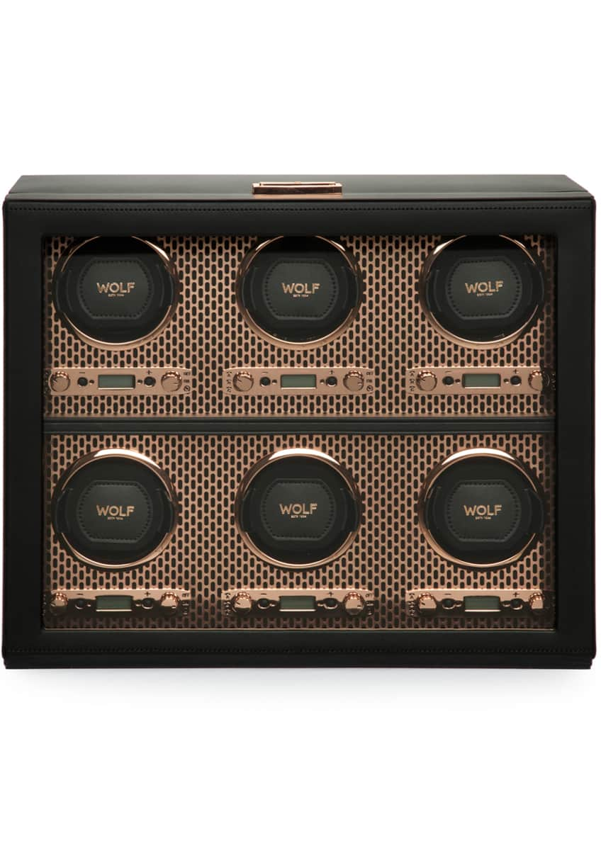 Image 4 of 4: Axis 6-Piece Watch Winder