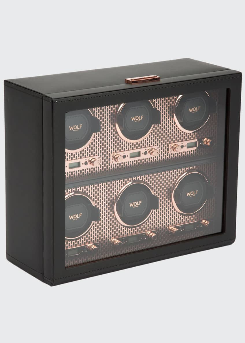 Image 1 of 4: Axis 6-Piece Watch Winder