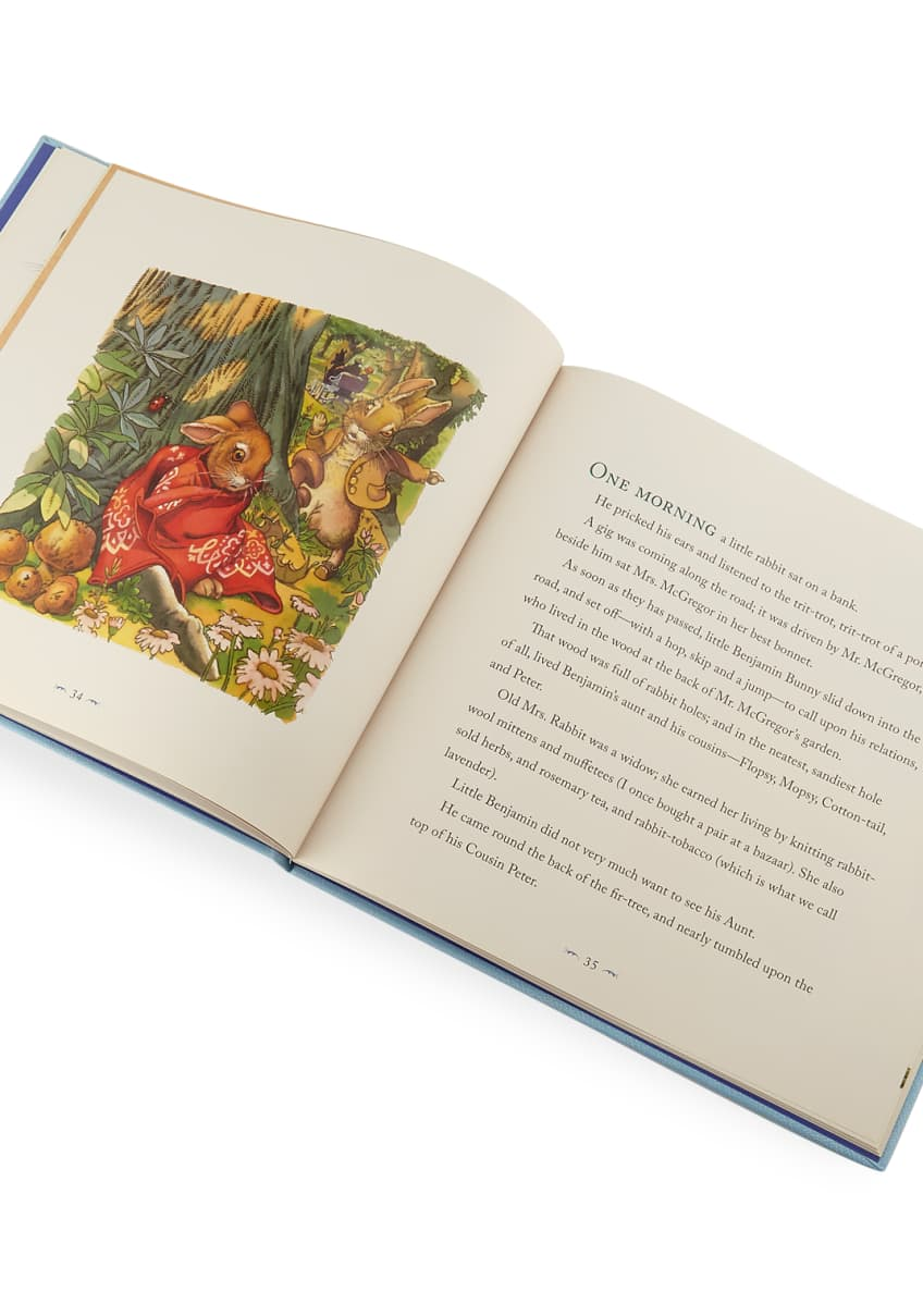 "Image 2 of 2: Personalized ""The Classic Tale of Peter Rabbit and Other Cherished Stories"" Children's Book by Beatrix Potter"