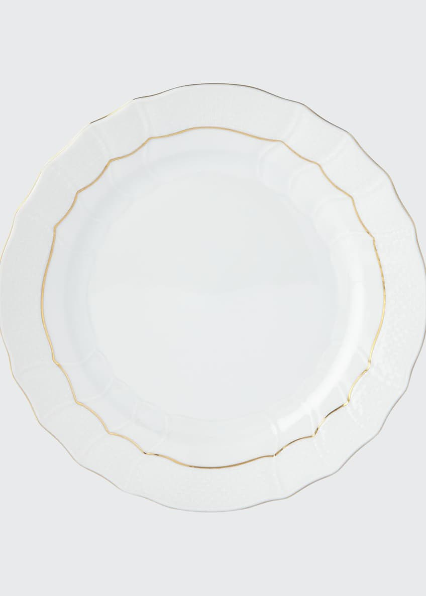 Herend Golden Edge Dinner Plate