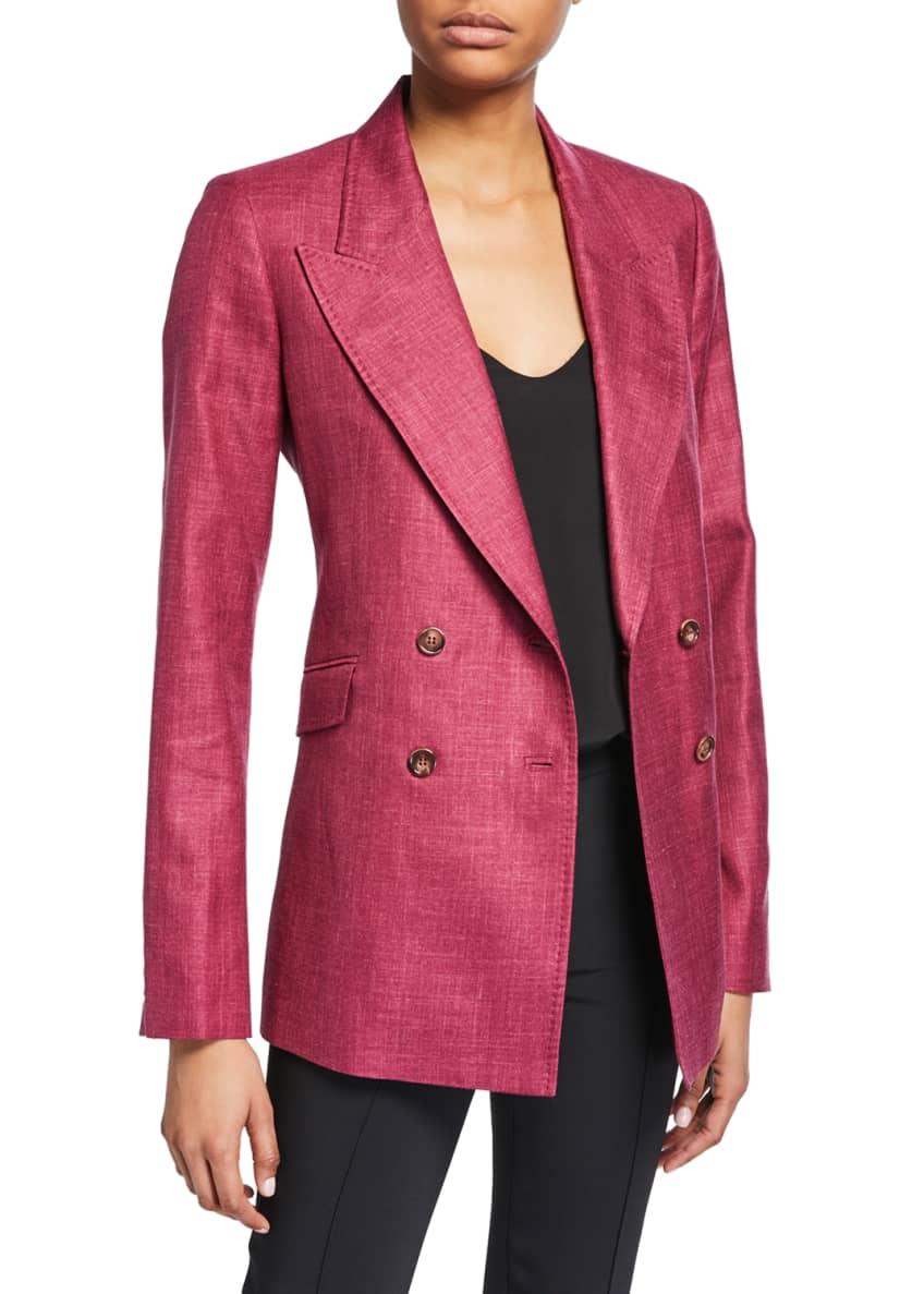 Gabriela Hearst Angela Double-Breasted Blazer & Matching Items