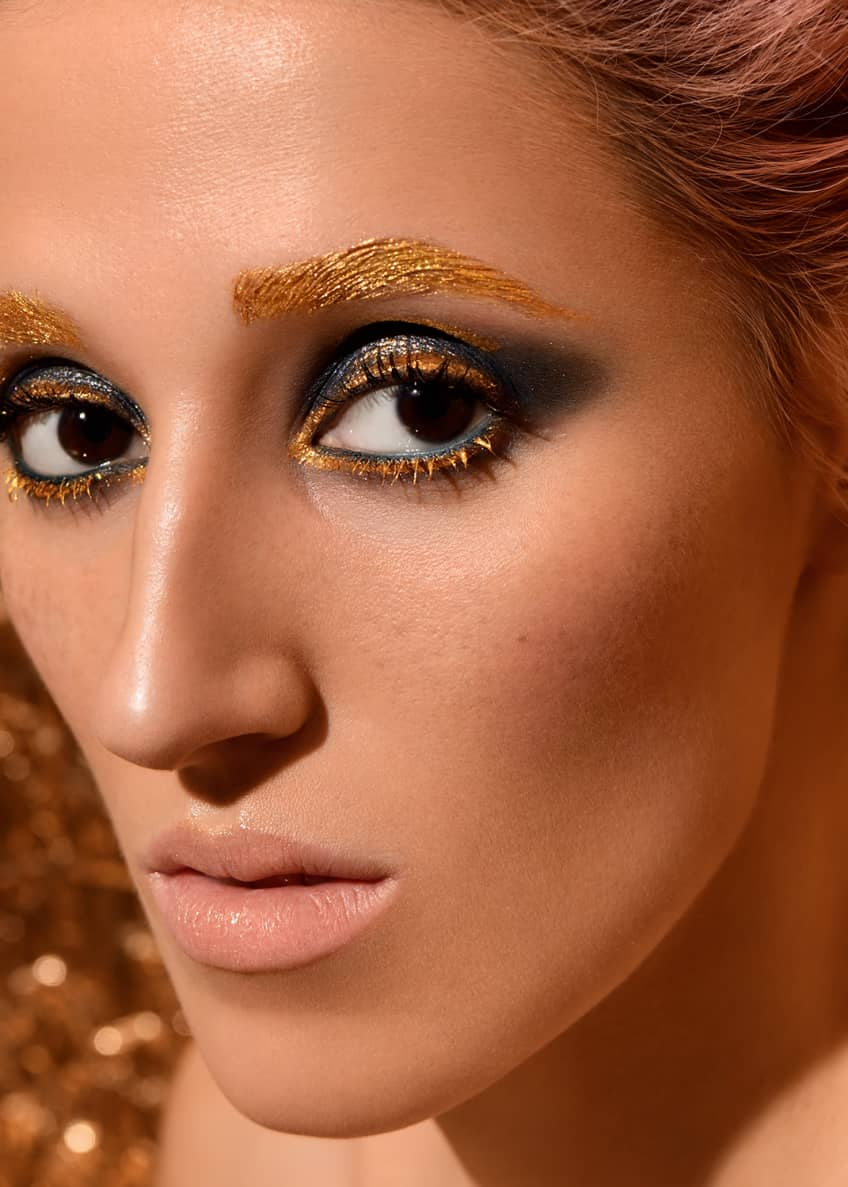 Image 3 of 5: GOLDOMANIA Tape à l'Oeil Metallic Eye Colour, Limited Edition Holiday
