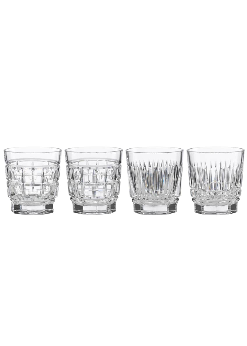 Image 1 of 1: New Vintage Whiskey Glasses, Set of 4