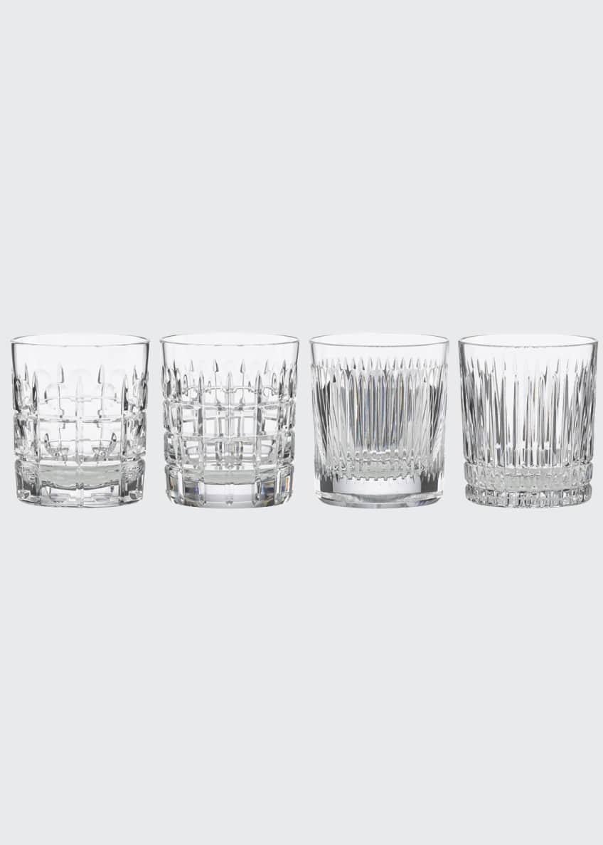 Reed & Barton New Vintage Double Old-Fashioned Glasses,