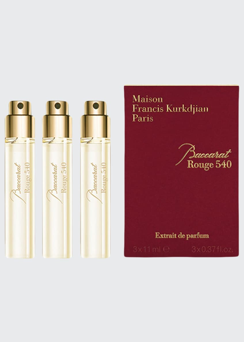 Image 1 of 1: Baccarat Rouge 540 Extrait de Parfum Refills, 3 x 0.37 oz./ 11 mL