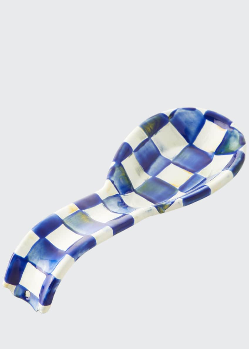 Image 1 of 1: Royal Check Spoon Rest