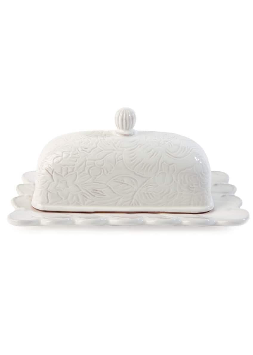 Image 1 of 2: Sweetbriar Covered Butter Dish