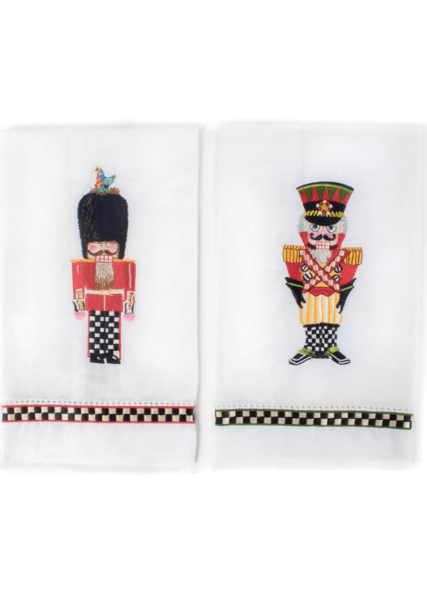 Image 1 of 1: Palace Guards Guest Towels, Set of 2