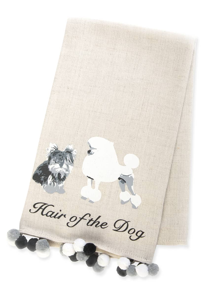 MacKenzie-Childs Hair of the Dog Bar Towel