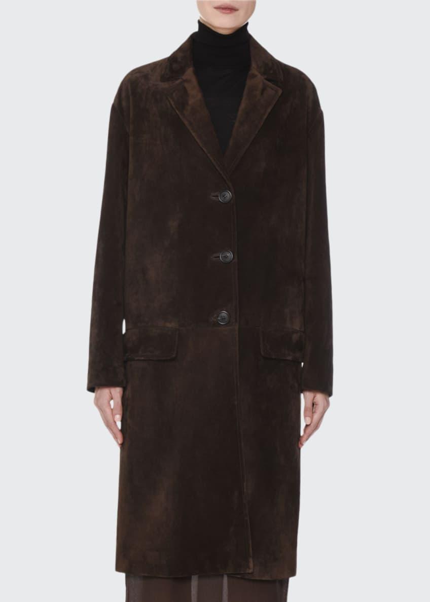 Prada Belted Chiffon Maxi Skirt & Matching Items