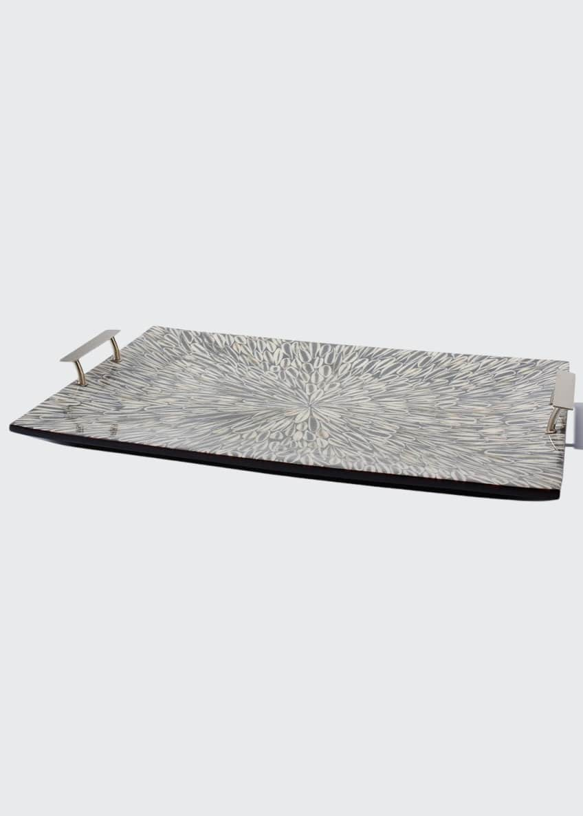 LADORADA Gray Almendro Large Tray