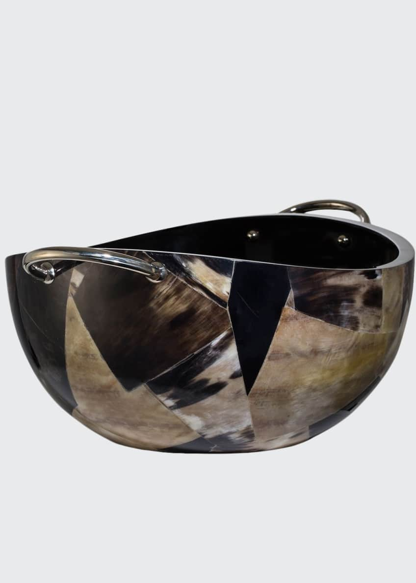 Image 1 of 2: Horn Veneer Bowl