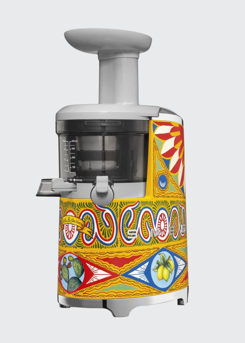 Image 1 of 2: D&G x SMEG Hand-Painted Slow Juicer