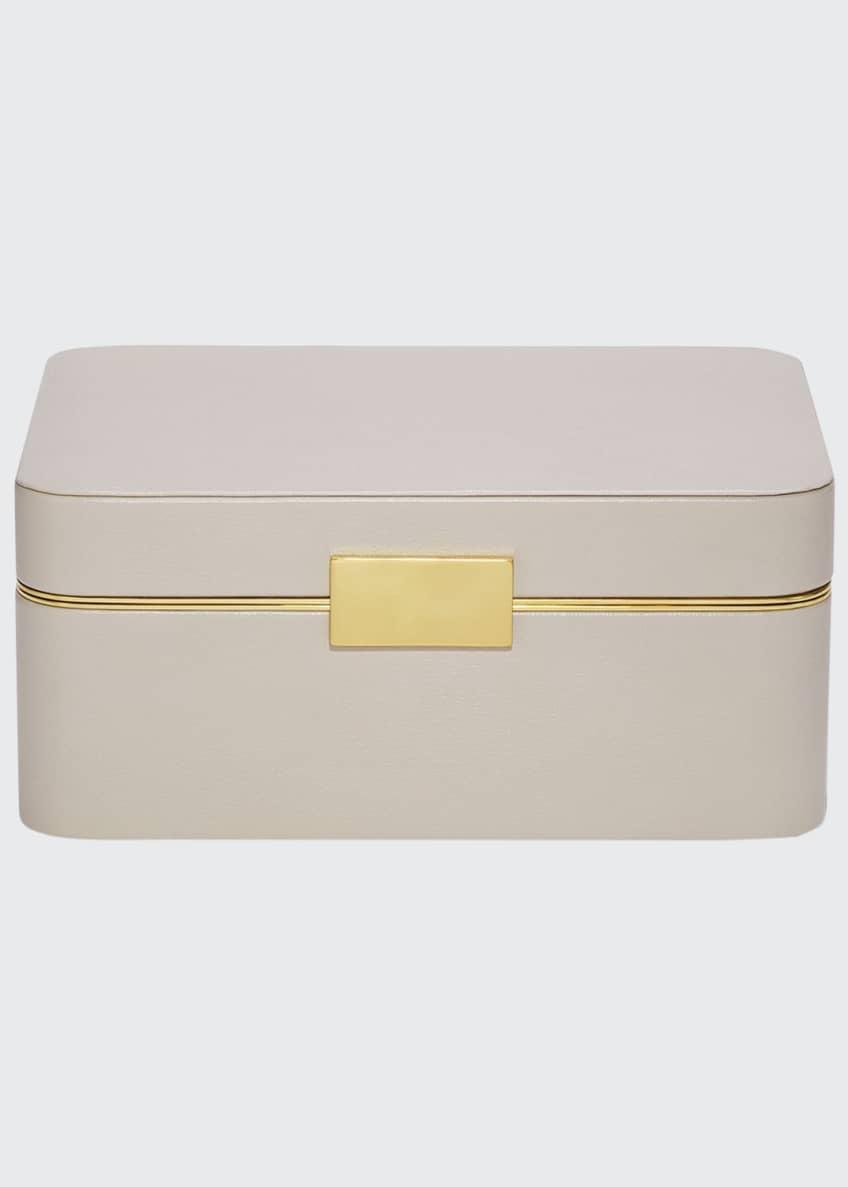AERIN Beauvais Leather Jewelry Box