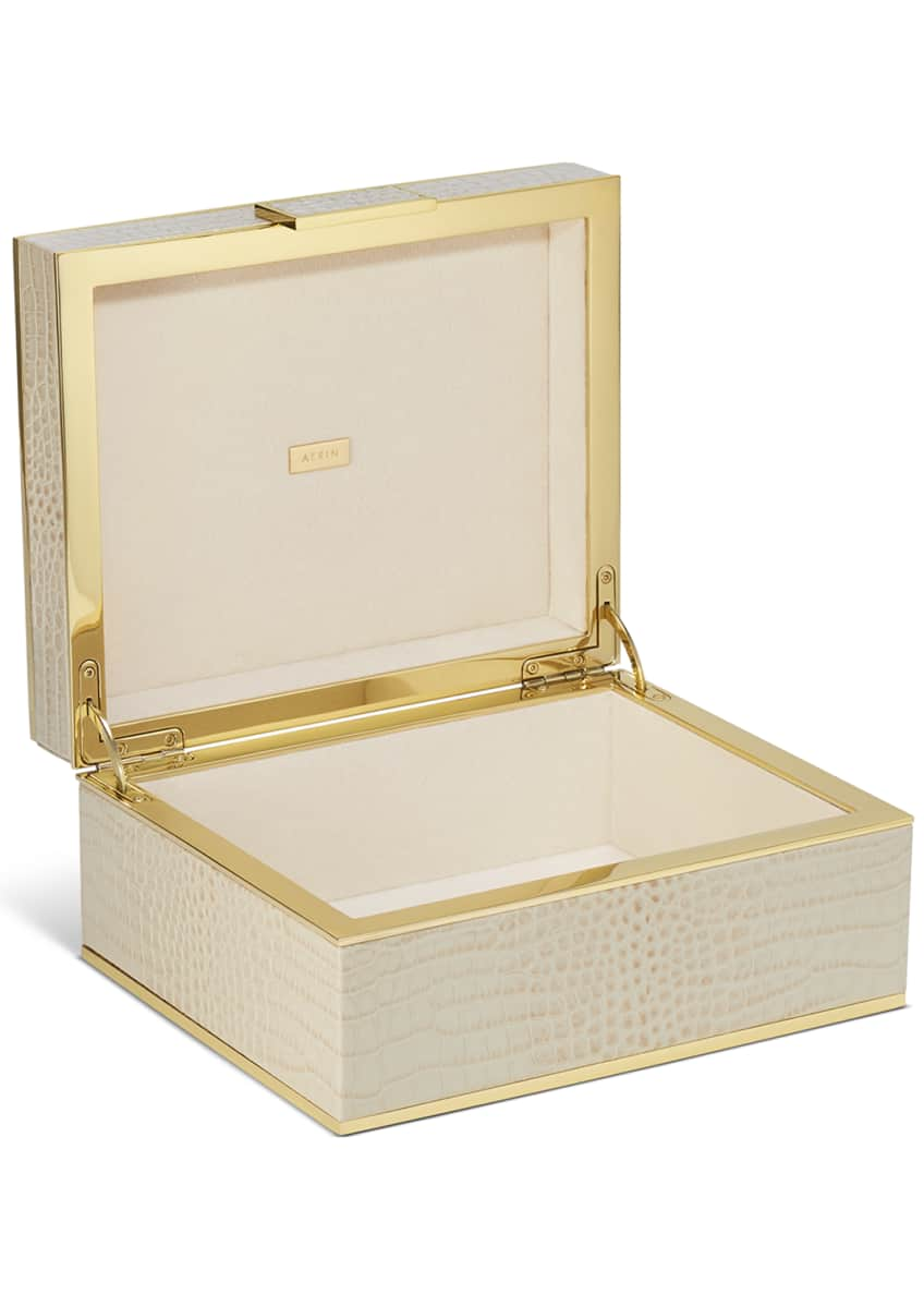 Image 2 of 2: Classic Croc Small Jewelry Box