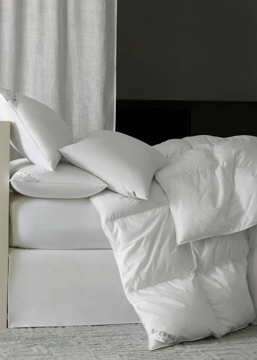 Image 1 of 2: 800-Fill European Down Heavy Weight King Duvet