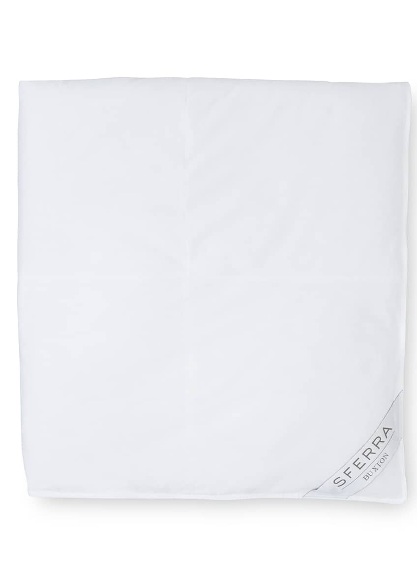 Image 2 of 2: 600-Fill European Down Medium Weight King Duvet