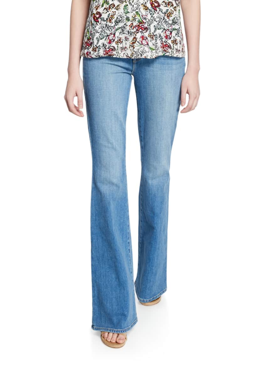 Image 1 of 3: Bell High-Rise Flare Jeans