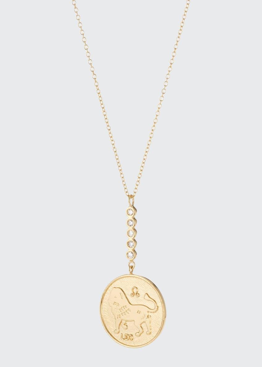 Jennifer Zeuner Greta Leo Pendant Necklace