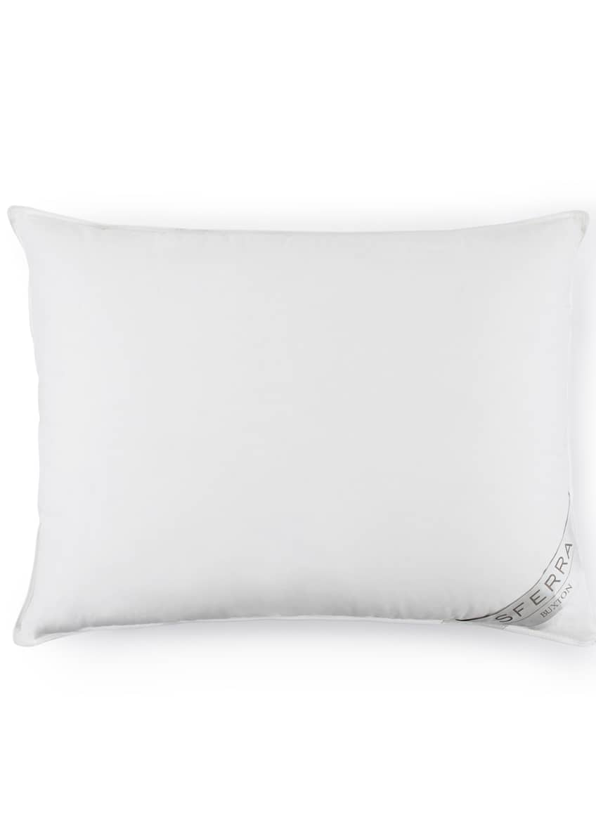 Image 2 of 2: 600-Fill European Down Firm Standard Pillow