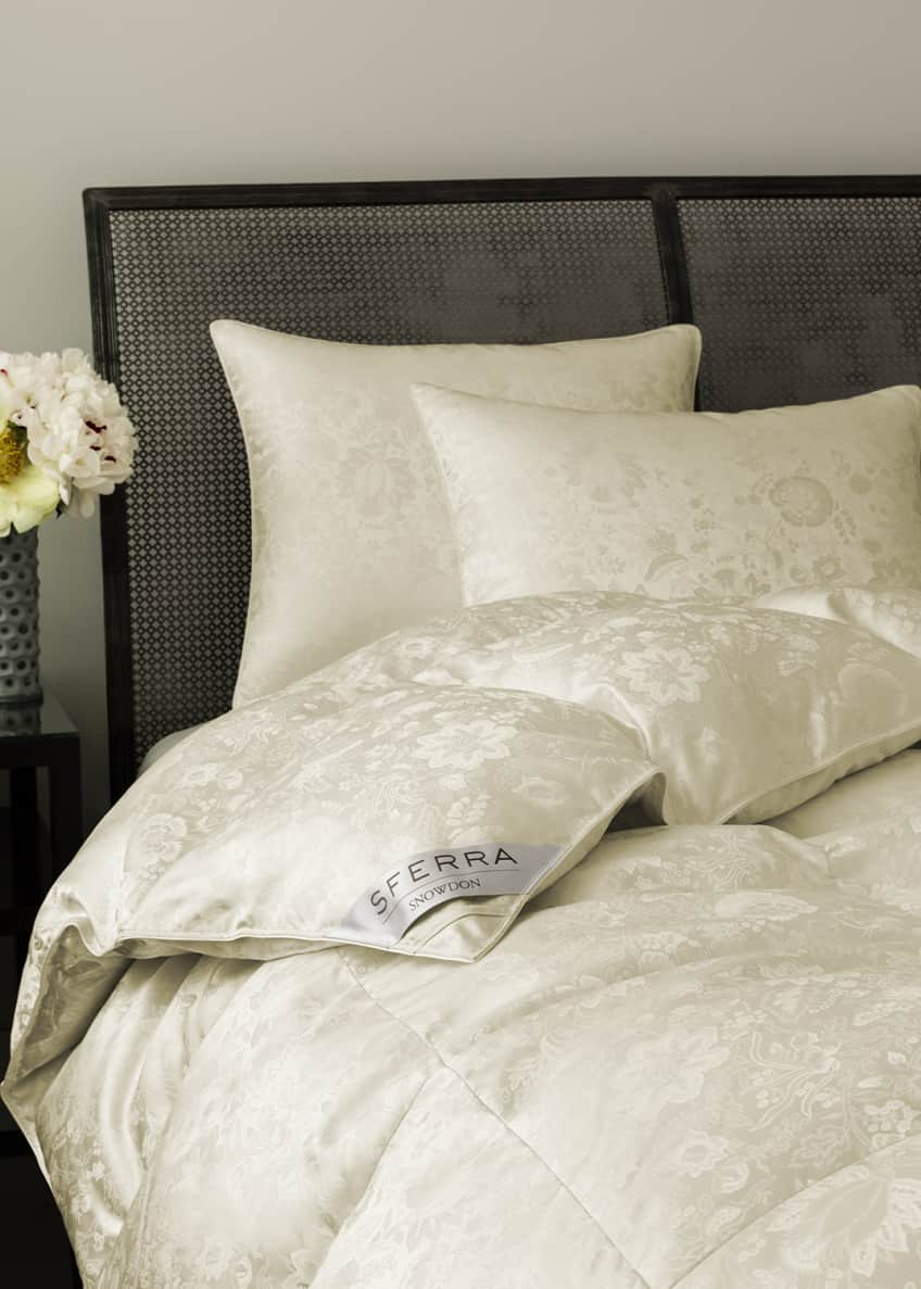 SFERRA 900-Fill Canadian Down Soft Queen Pillow