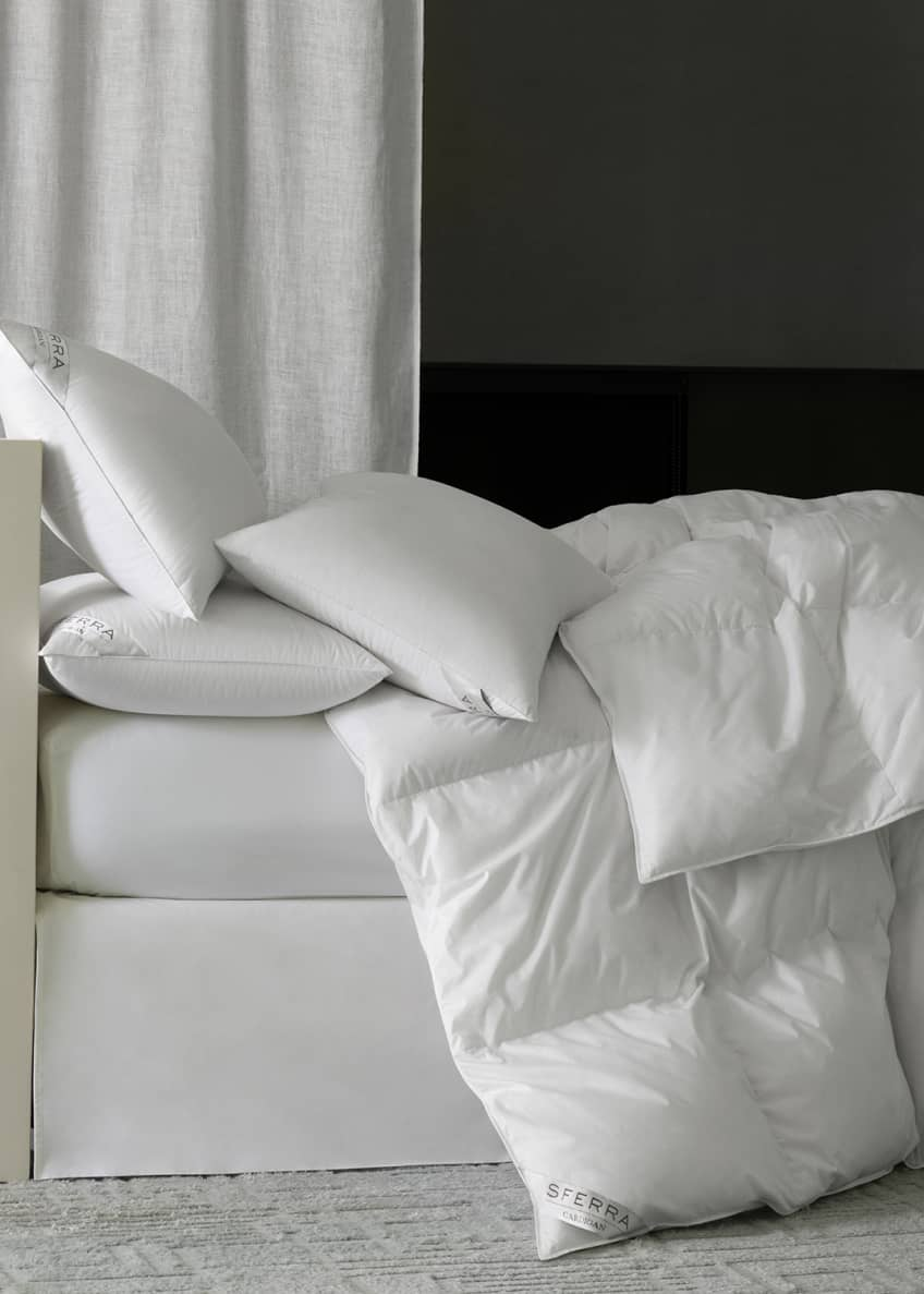 Image 1 of 2: 800-Fill European Down Medium Standard Pillow