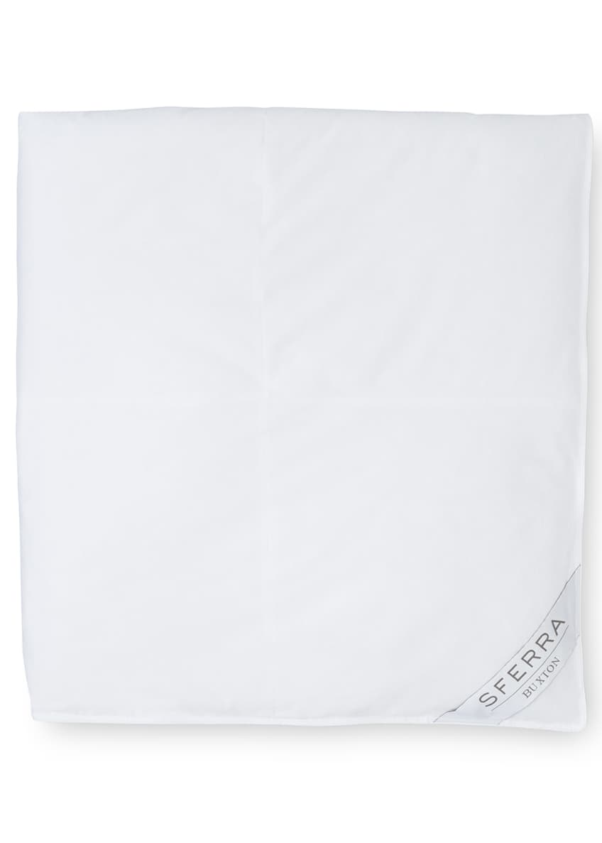 Image 2 of 2: 600-Fill European Down Medium Weight Twin Duvet