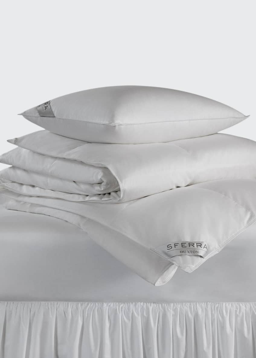 Image 1 of 2: 600-Fill European Down Medium Weight Twin Duvet