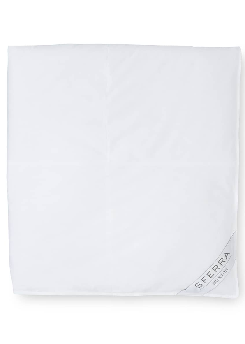 Image 2 of 2: 600-Fill European Down Medium Weight Queen Duvet