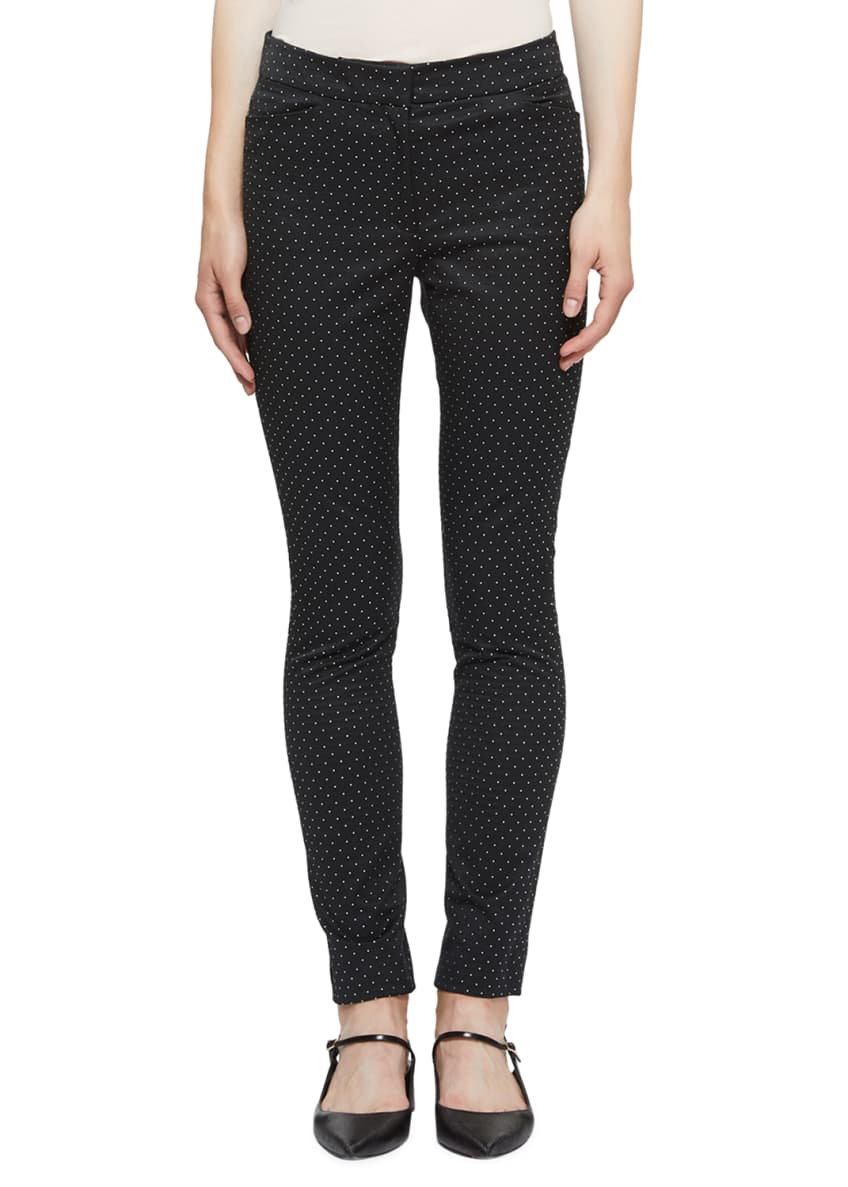 Erdem Sidney Pindot Skinny Pants & Matching Items