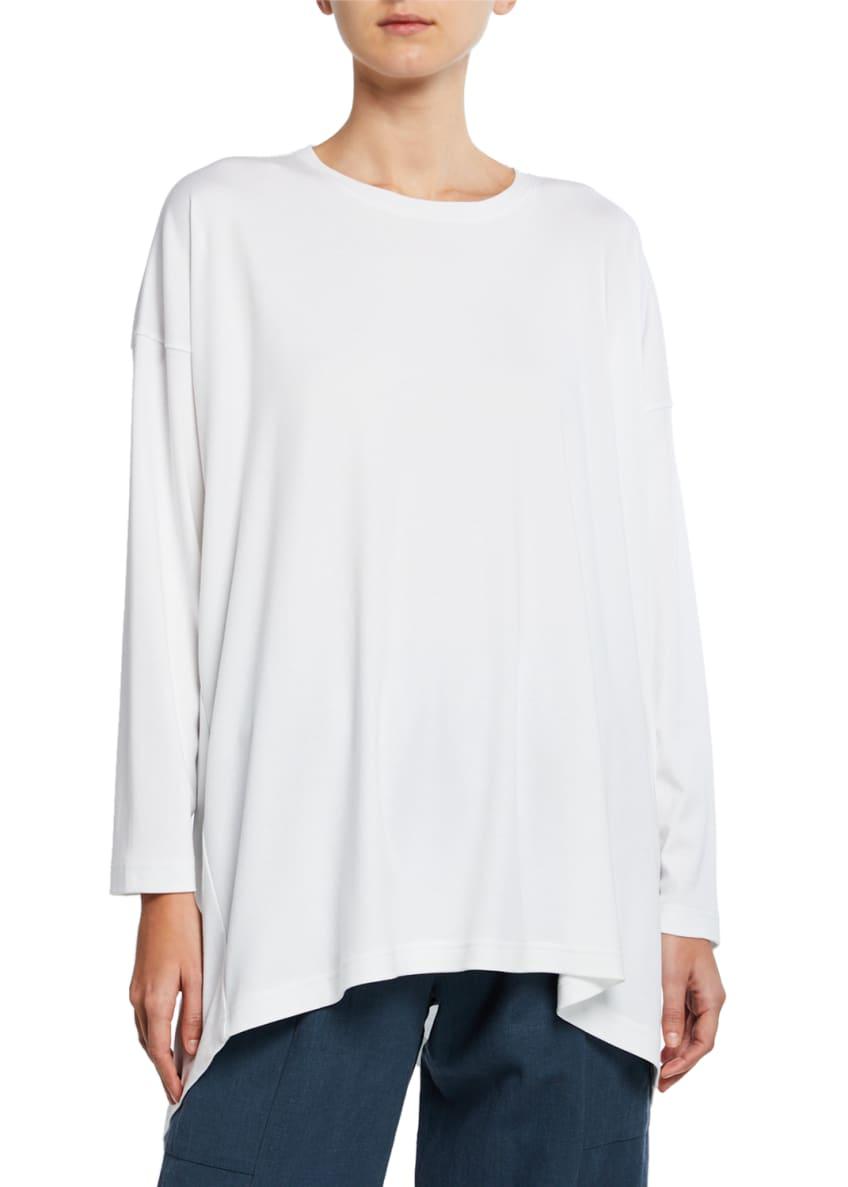 Eskandar Cotton Basic Cascading T-Shirt & Matching Items