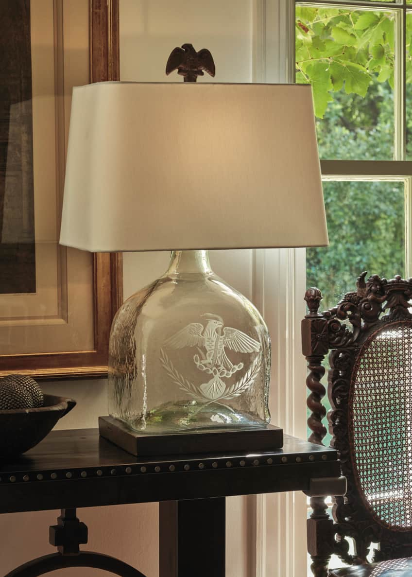 Image 2 of 2: El Aguila Patron Table Lamp