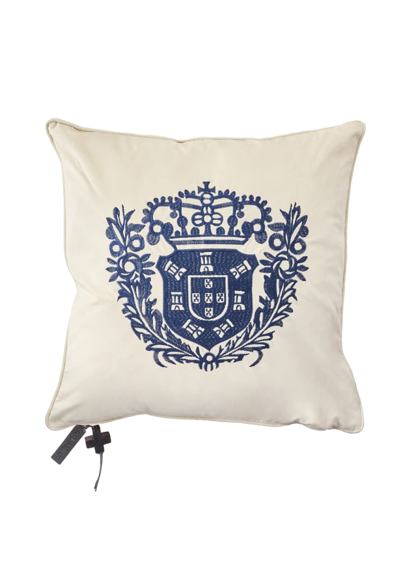 Jan Barboglio El Escudo Pillow
