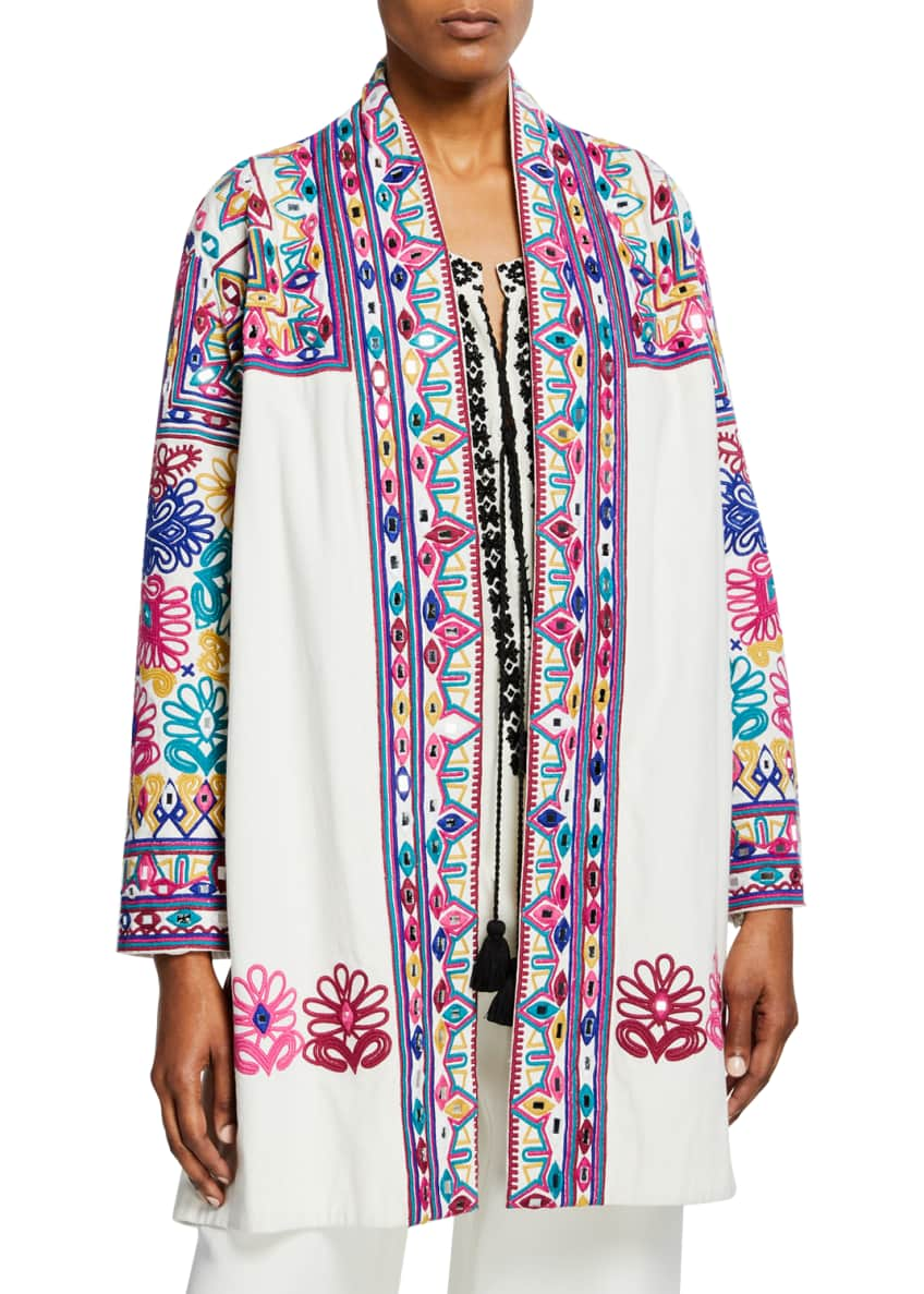 Figue Martine Embroidered Cotton Jacket & Matching Items