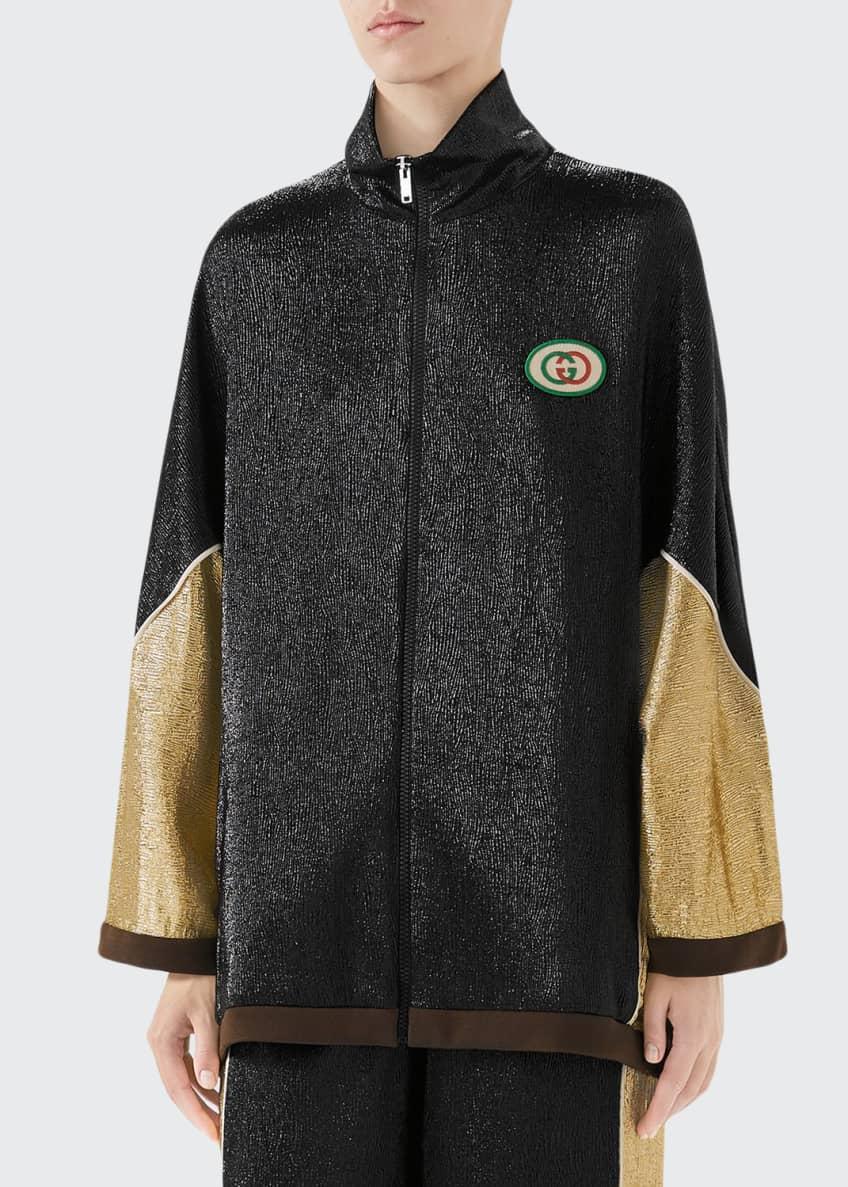 Gucci Shimmer Crepe Kimono Jacket & Matching Items