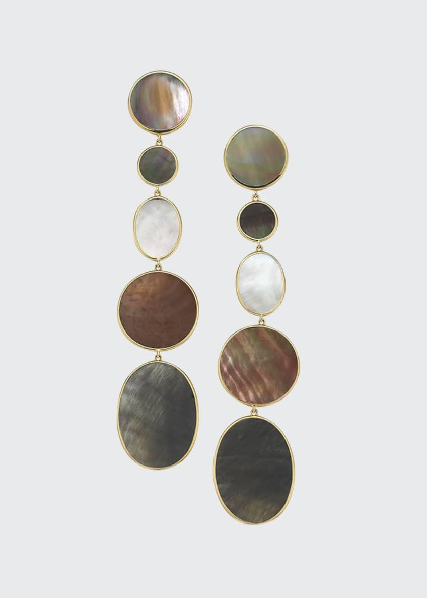 Ippolita 18K Polished Rock Candy Long Linear Earrings