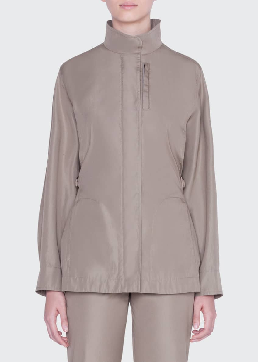 Akris punto Parka Jacket & Matching Items