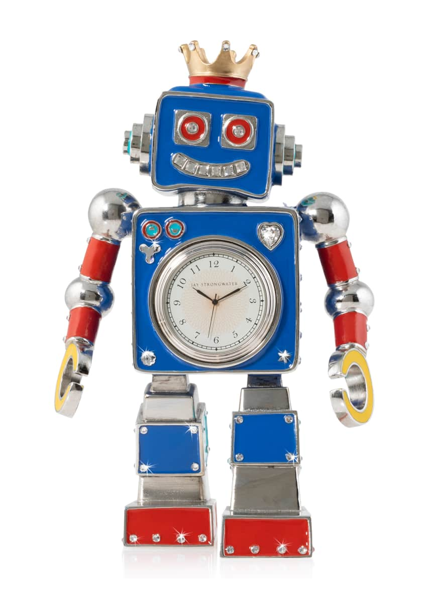 Jay Strongwater Robot Clock