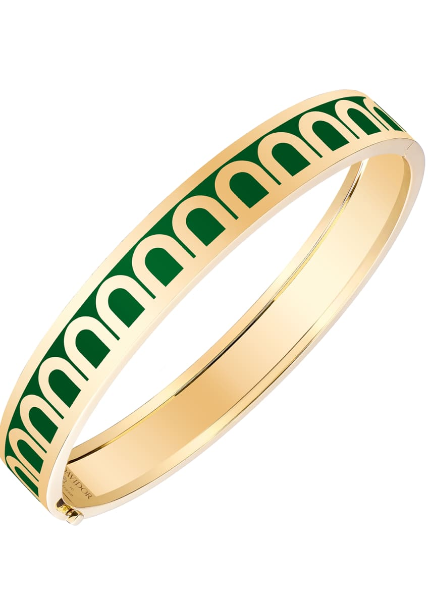 L'Arc de Davidor 18k Gold Bangle - Med.