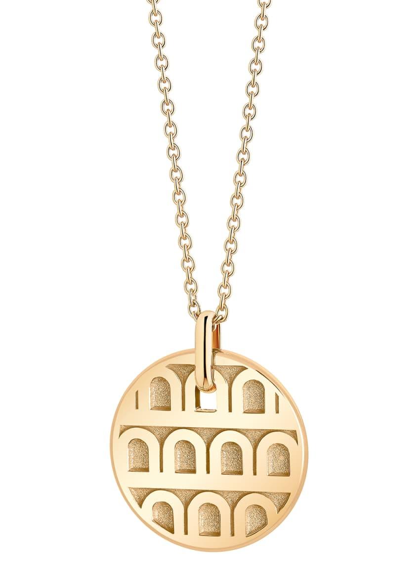 L'Arc de Davidor 18k Gold Pendant Necklace -