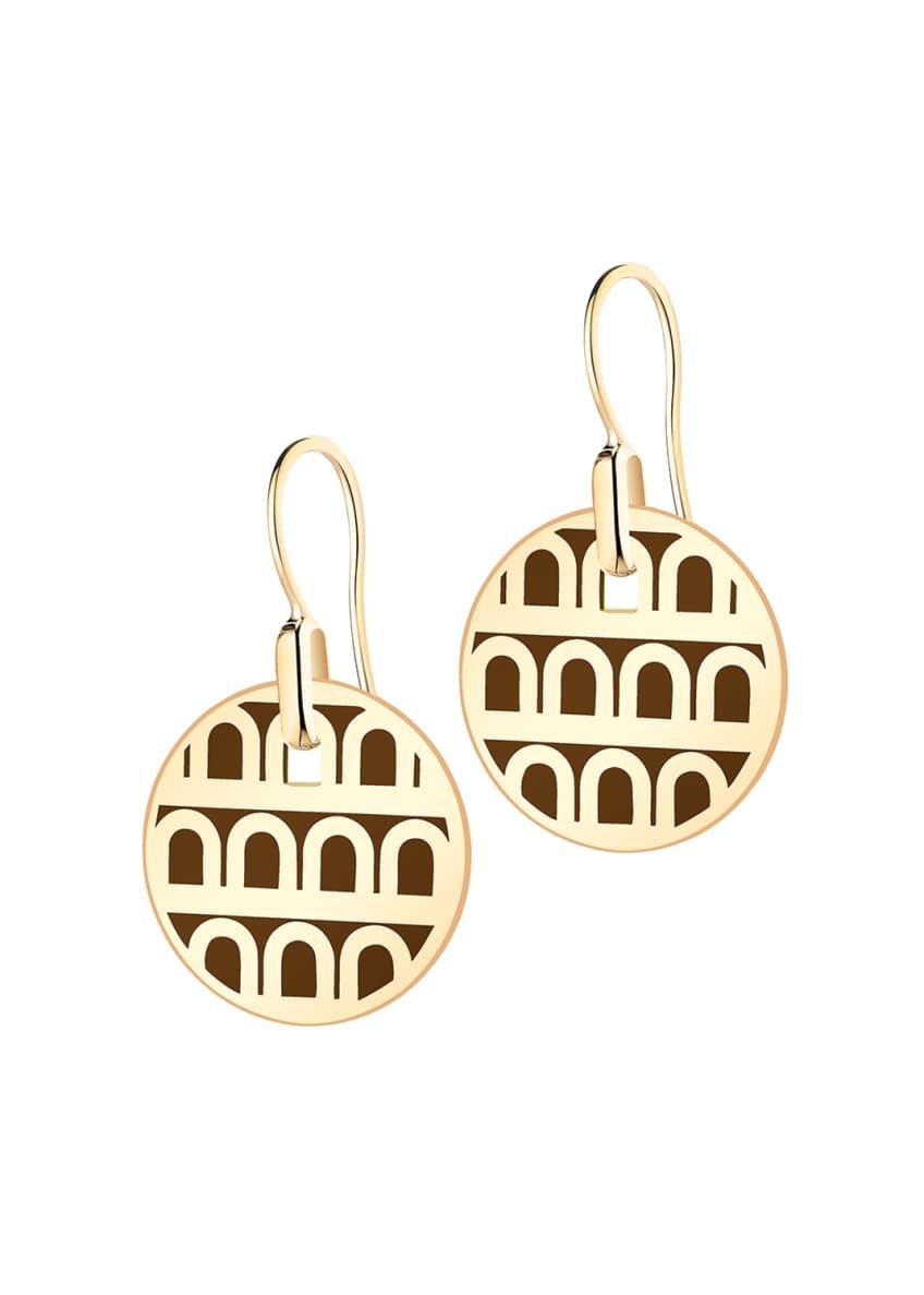 L'Arc de Davidor 18k Gold Drop Earrings -