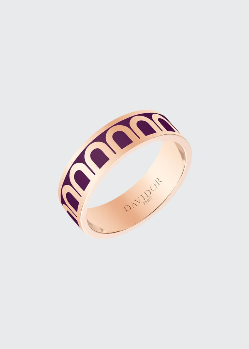 L'Arc de Davidor 18k Rose Gold Ring -