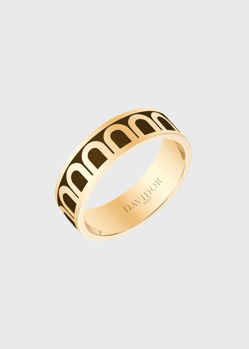 L'Arc de Davidor 18k Gold Ring - Med.