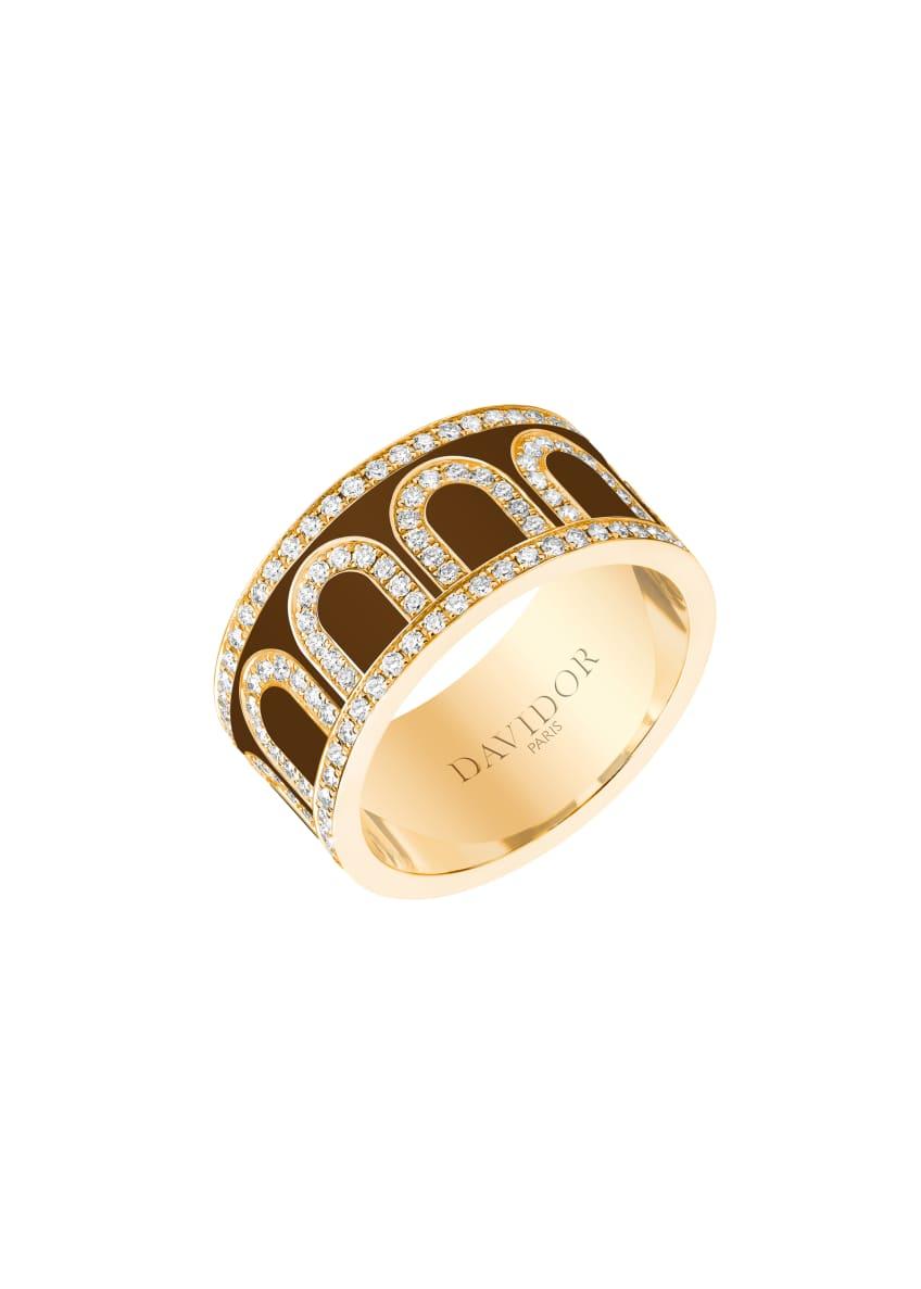 L'Arc de Davidor 18k Gold Diamond Ring -
